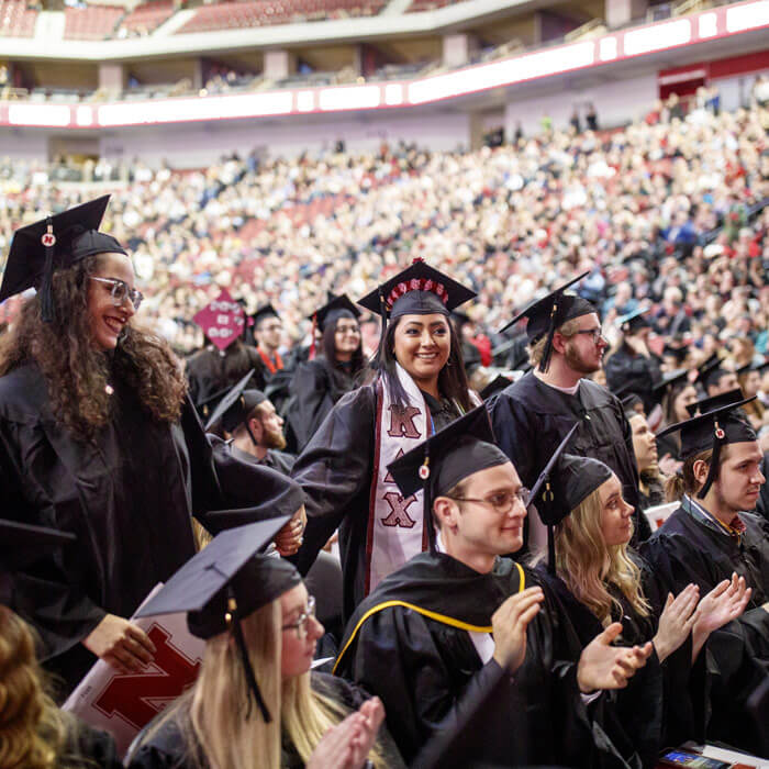 Commencement 2018 in Pinnacle Bank Arena